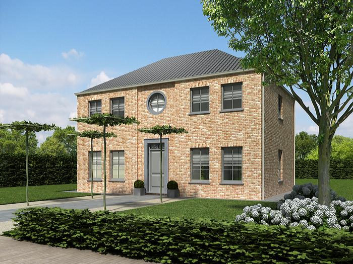 Heylen bouw woonstijlen herenhuis for Modern herenhuis