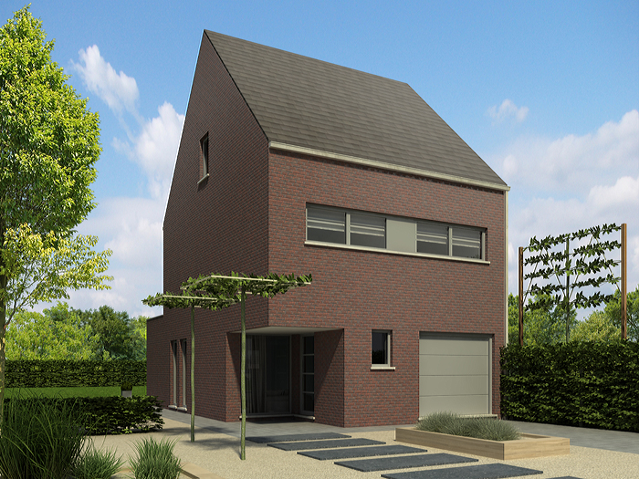 Heylen bouw woonstijlen modern for Grondplannen woningen